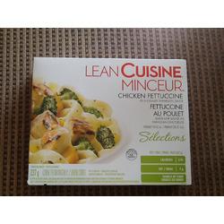 Lean cuisine chicken fettuccine