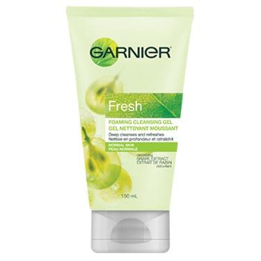 Garnier nettoyant moussant clarifiant doux