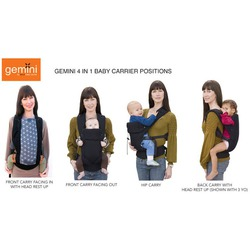 Beco Gemini 4-in-1 Baby Carrier