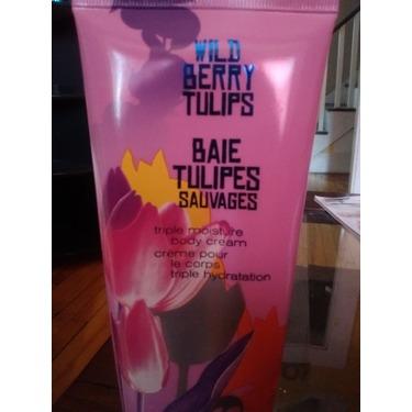 Bath & Body Works Wild Berry Tulips Triple Moisture Body Cream
