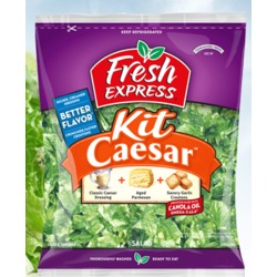 Fresh express Caesar salad kit