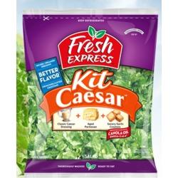Fresh express Caesar salad kit