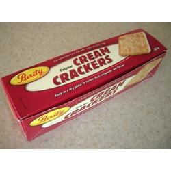 Purity cream crackers