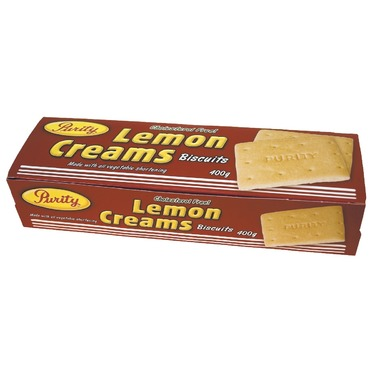 Purity lemon biscuits