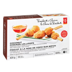 President's Choice Coconut Chicken Lollipops