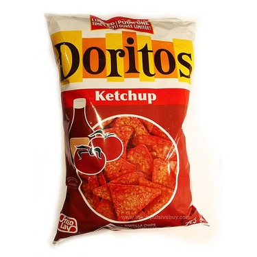DORITOS® Ketchup Flavoured Tortilla Chips