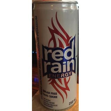 Red rain energy drink
