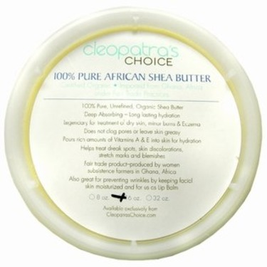 Cleopatra's Choice – 100% Pure African Shea Butter