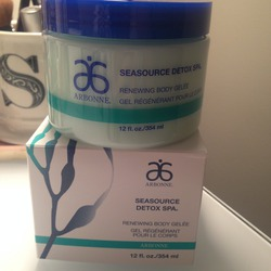 Arbonne Seasource Detox Renewing Body Gelée