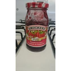 smuckers pure raspberry jam