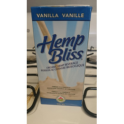 hemp bliss organic hemp beverage vanilla
