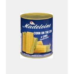 Madeleine corn on the cob