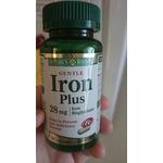 Nature's Bounty Iron Plus