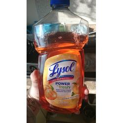 Lysol Power& Fresh Multi Surface Cleaner Orange