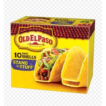 Old El Paso stand n stuff taco shells