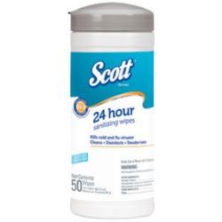SCOTT 24 Hour Sanitizing Wipes