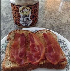 Monkey Butter Peanut Butter - Maple Bacon Flavour