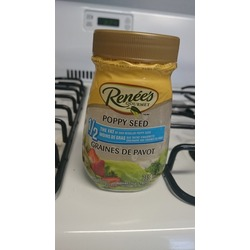 Renee's Gourmet Poppy Seed 1/2 the fat
