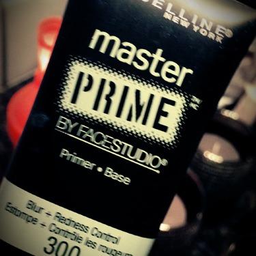 maybeline master primer - blur + redness control