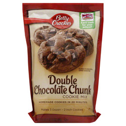 Betty Crocker Double Chocolate Chunk Mix