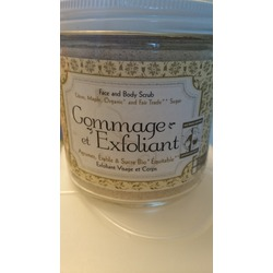 Gommage & Exfoliant Face and Body Scrub