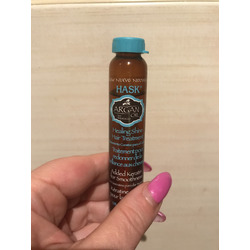 hask argan oil from morocco healing shine hair treatment