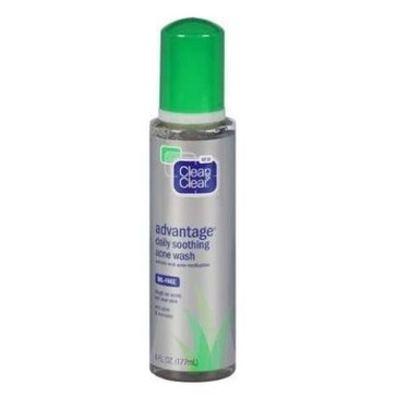 clean and clear advantage soothing acne wash