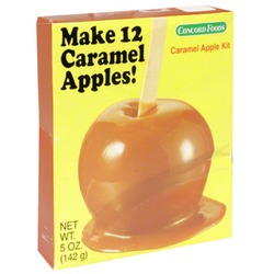 Concord foods caramel apple kit