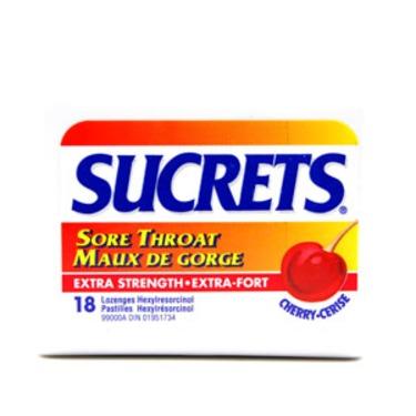 Sucrets: Sore Throat Extra Strength, Cherry