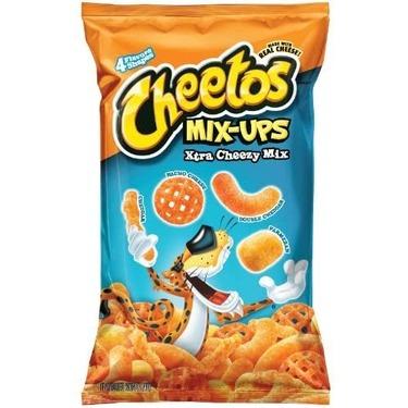 Cheetos mix ups xtra cheezy mix
