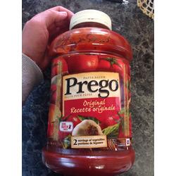 Prego Original pasta sauce