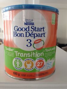 Nestl 233 174 Good Start 174 Stage 3 Toddler Transition Nutritional