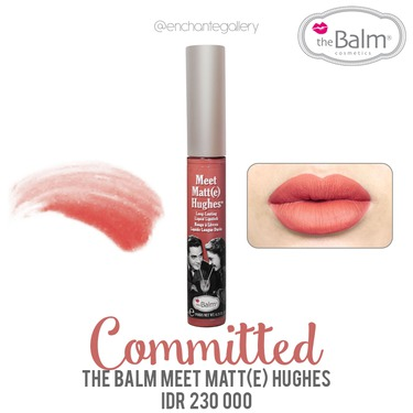 The Balm Meet Matt(e) Hughes Long Lasting Liquid Lipstic