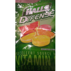 Halls Defence Vitamin C Drops-Sugar Free
