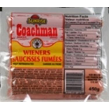 Sunrise coachman wieners