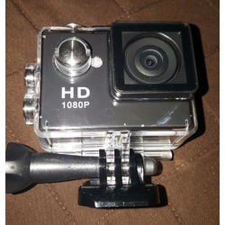ASX 1080p Waterproof Sports Cam - 2 inch screen - Super Wide Angle Lens - 10 Accessories Included