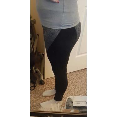 Yoga Leggings - Sunzel Women's Tights Yoga Fitness Running Leggings Pants (L,Black Gray)