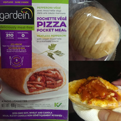 Gardein Pepperoni pizza pocket