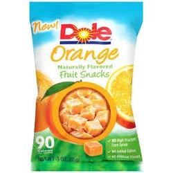 Dole Orange Fruit Snacks