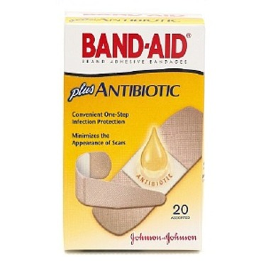 Band Aid Plus Antibiotic