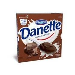 danone danette chocolate pudding
