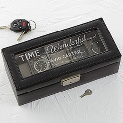 Leather watch box from personalizationmall.com