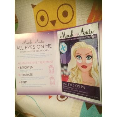 MaskerAide - All Eyes On Me Hydrating Eye Gel Patches