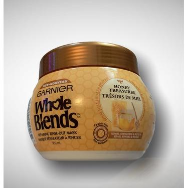 Garnier Whole Blends Honey Treasures Repairing Rinse Out Mask