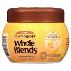 Garnier Whole Blends Honey Treasures Repairing Rinse Out Mask