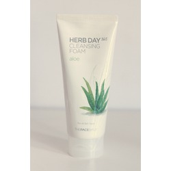 The Face Shop Herb Day 365 Cleansing Foam - Aloe