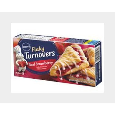 Pillsbury flaky turnovers real strawberry