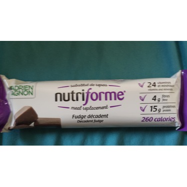 Adrien Gagnon Decadent Fudge Nutriforme Bars