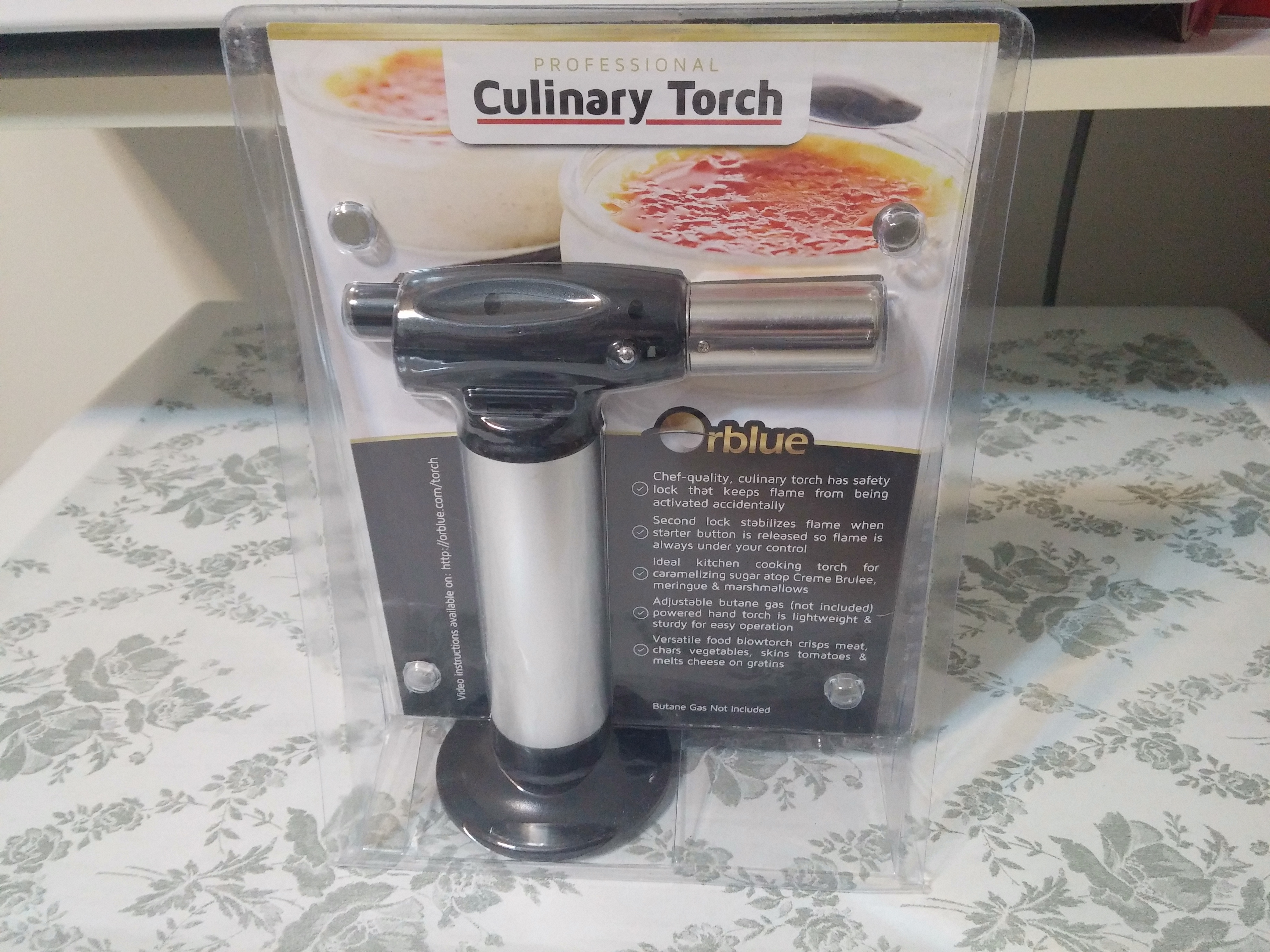 Kitchen Collection Creme Brulee Torch Review