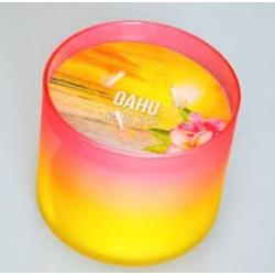 candle oahu coconut sunset